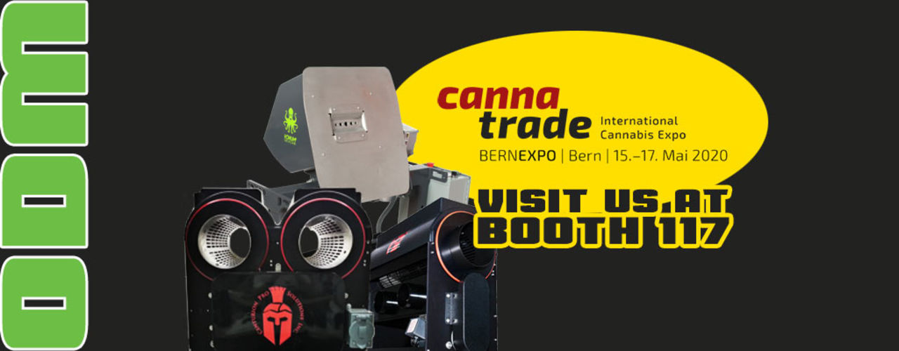 Visit us at Cannatrade in Bern!