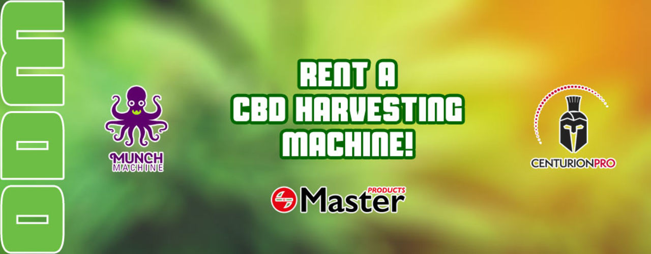 Rent your cbd harvesting machine here!